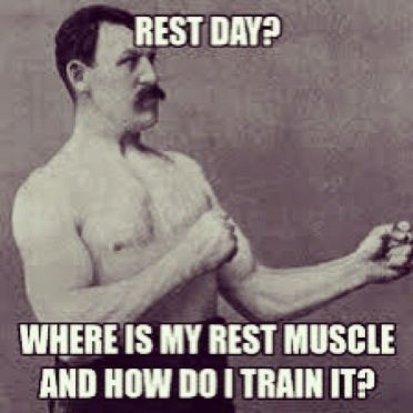rest day muscls